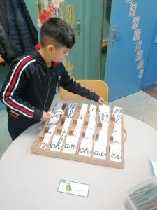 Remédiation lecture, écriture et vocabulaire.